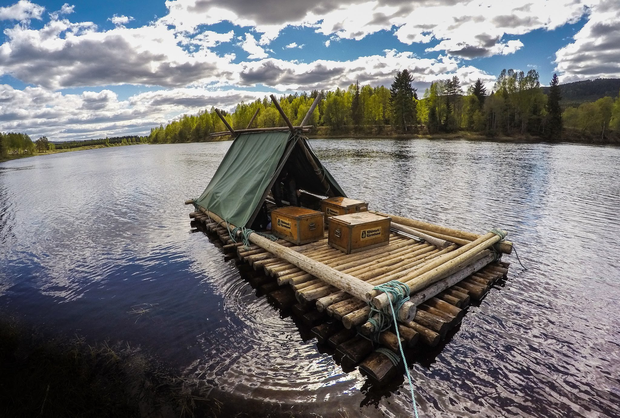 A river raft adventure - you tube